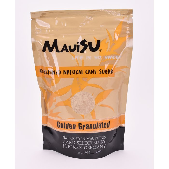Mauisu Rohrzucker Golden Granulated 500g (12,98€/KG)